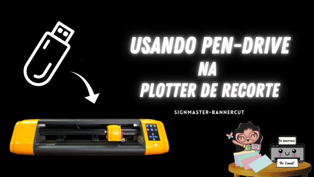 Como salvar o arquivo para corte no Pen-drive SIGMASTER.